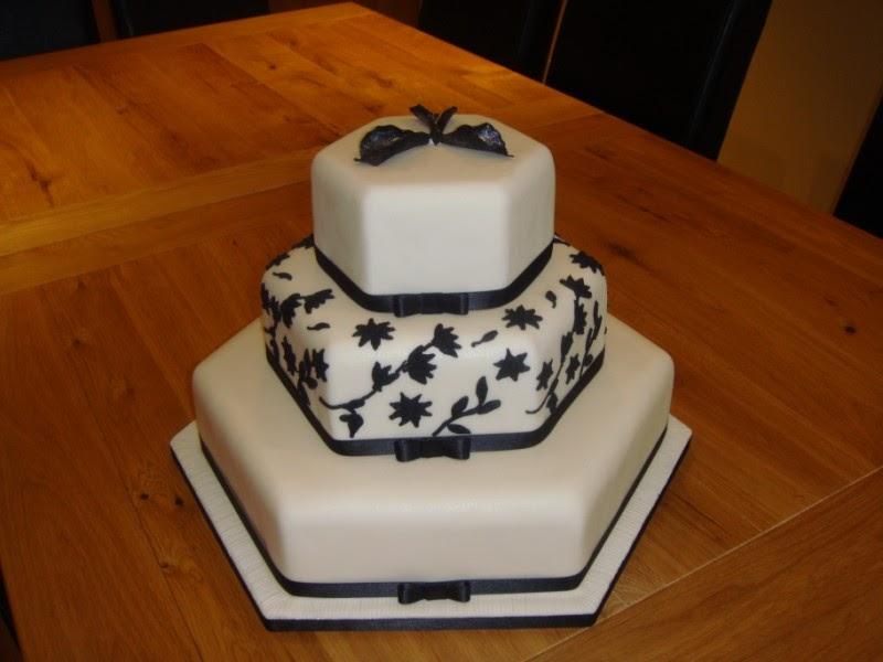 Hexagon Cake Ribbons