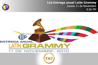 Este Jueves en vivo: Latin Grammy 2010 por TNT