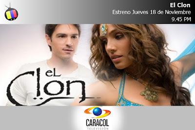 El Clon, Gran estreno Esta noche en Caracol Televisión