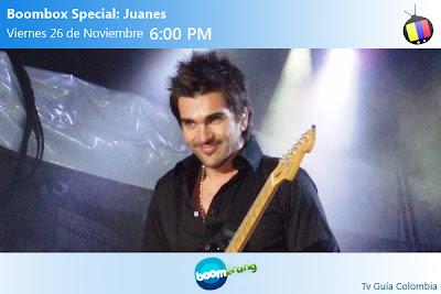 Este Viernes en Boomerang: Juanes