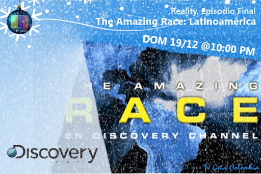 HOY 19/12: Episodio final de The Amazing Race en Discovery