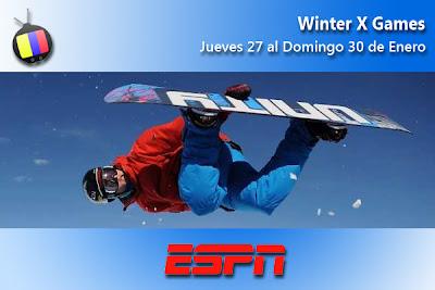 Los XV X-Games de Invierno, esta semana por ESPN