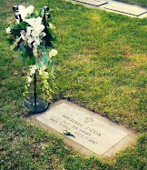 Mike's gravesite in Shakopee
