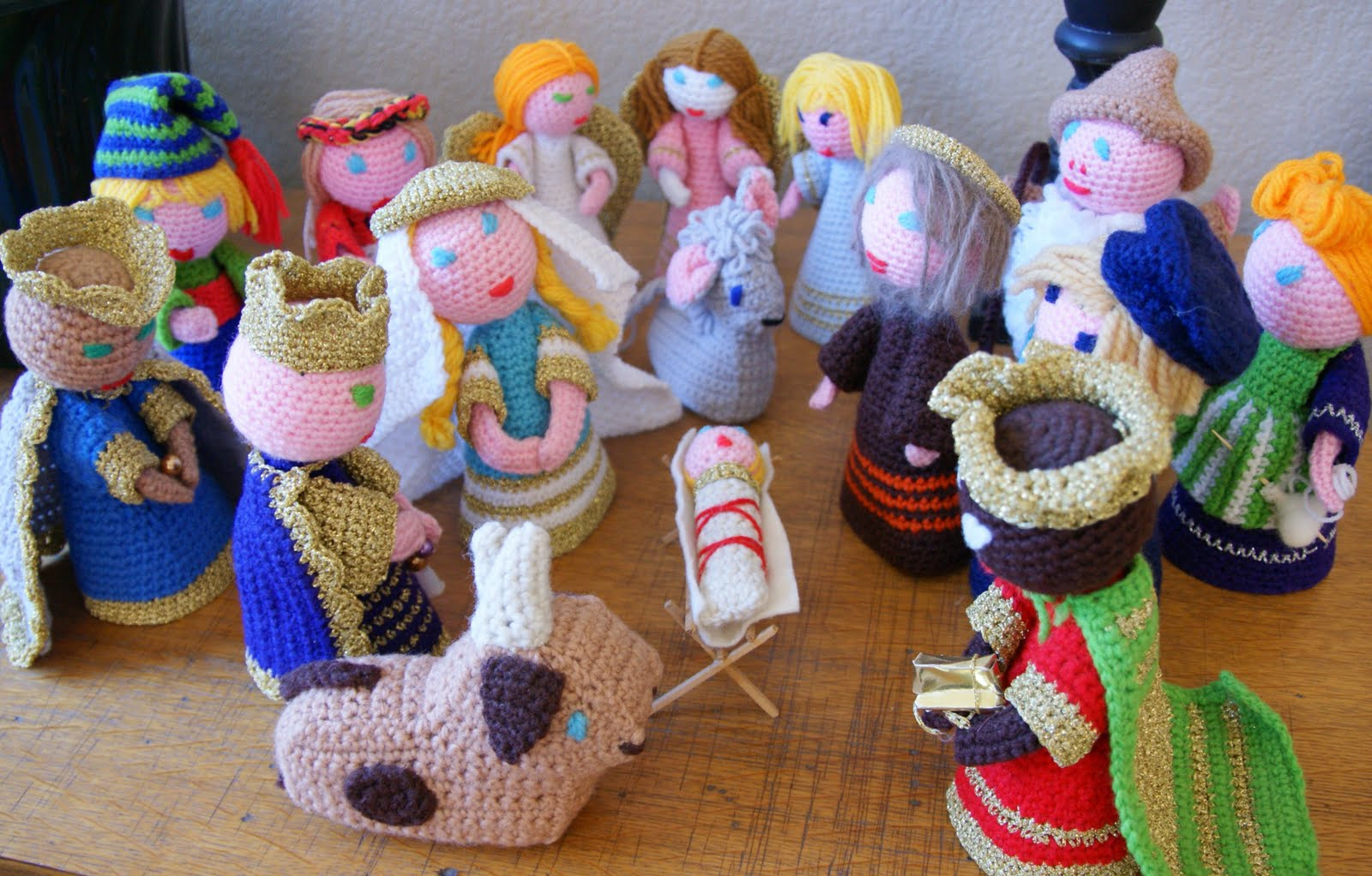Free Amigurumi Nativity Pattern : Philippines crocheted nativity world nativity nativities