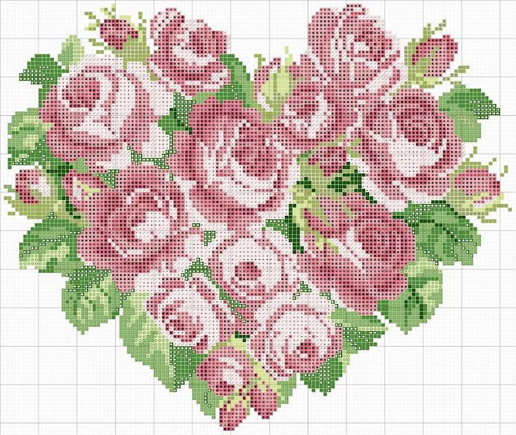 coraçao de flores