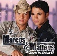 Cd Marcos & Matteus   Quem Te Viu, Quem Te Vê (2010)