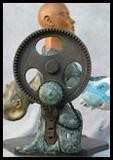 statue animée carrousel émotions et sensations défilent