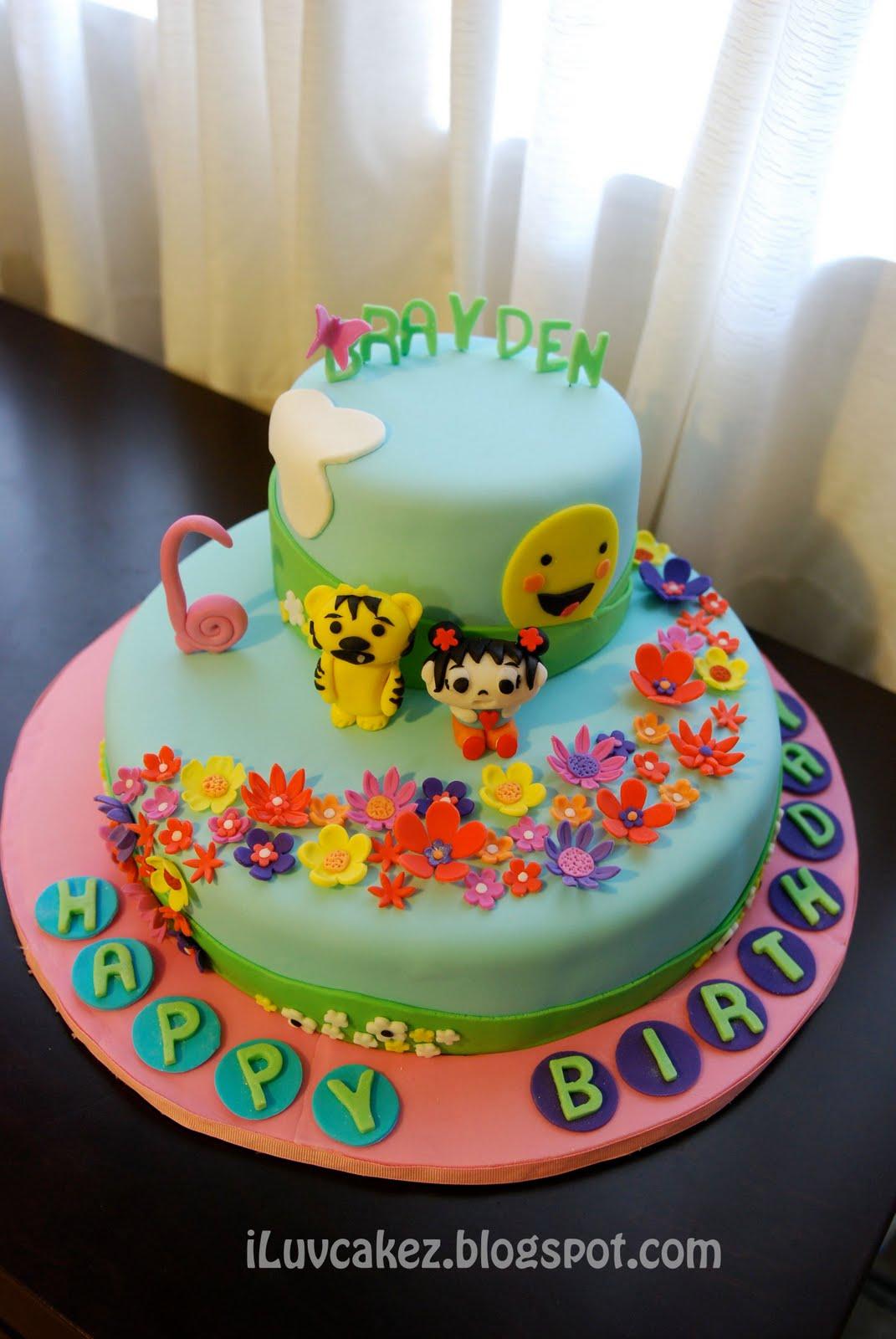 Iluv Cakez Ni Hao Kai Lan Cake Braydens 7th Birthday Cake