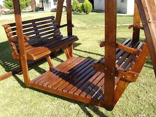 Columpios y resbaladeros de chihuahua chih - Columpio de madera para jardin ...