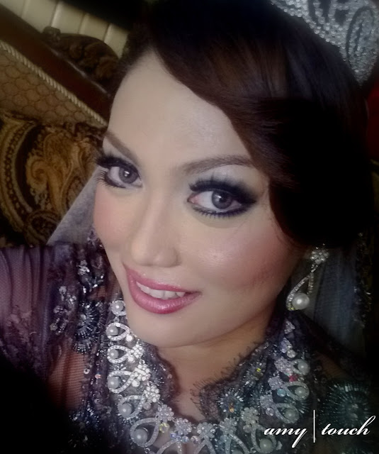 smokey eyes...Tengku Saleha