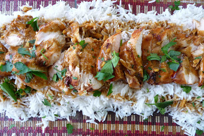 Grilled Chicken with Soy-Curry Sauce - Cookin Canuck
