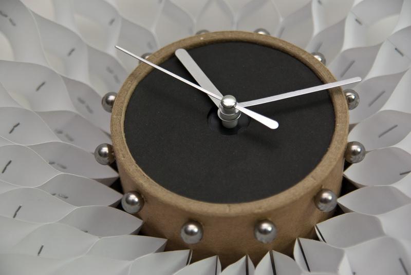 DIY FUNWORKS: Paper cardboard wall clock