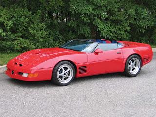 Callaway Speedster Corvette Rojo