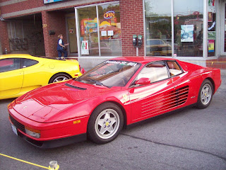 Ferrari Testarossa Rojo