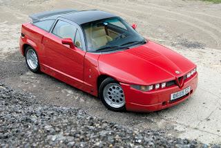 Alfa Romeo SZ RZ Zagato Historia e Imágenes
