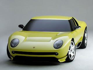 Lamborghini Miura Concept Frontal