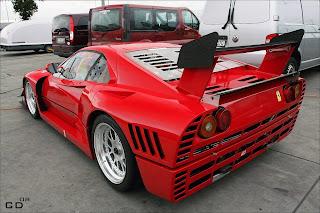 Ferrari 288 GT0 Evoluzione Trasera