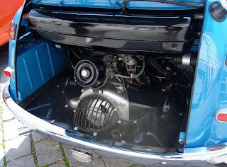 BMW 600 Isetta Motor