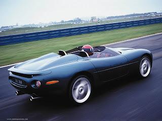 Jaguar XK 180 Trasera