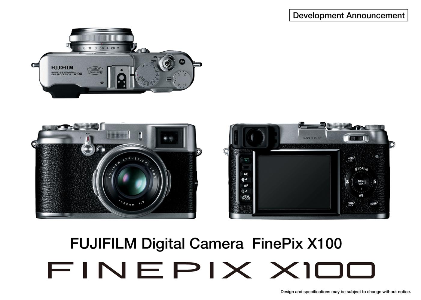 fuji finepix x100 aps c sensor in a retro design in photo insider rh uniquephoto com fujifilm x100 manual focus fujifilm x100 manual focus