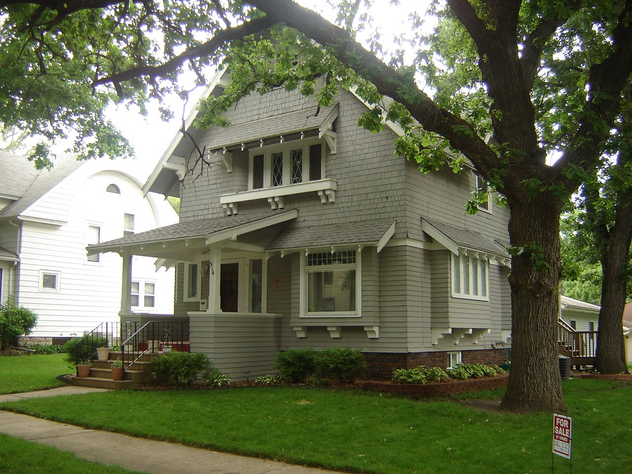 North iowa fsbo beautiful craftsman home for sale for Craftsman house for sale