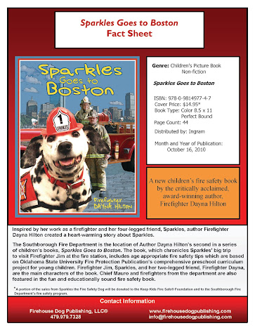 Sparkles Goes to Boston Fact Sheet
