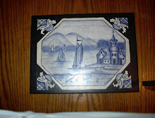 Blue Delft on Tile