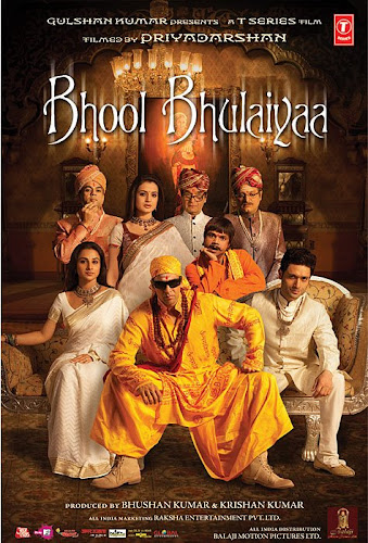 Bhool Bhulaiyaa (2007) Movie Poster