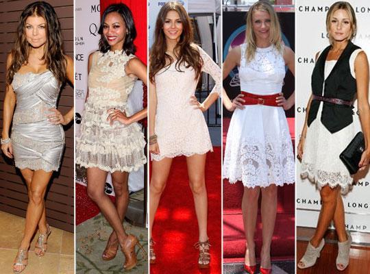 Vestidos de Renda 2011 – Fotos e Modelos