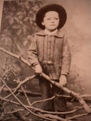 Dominikus Böhm als Kind