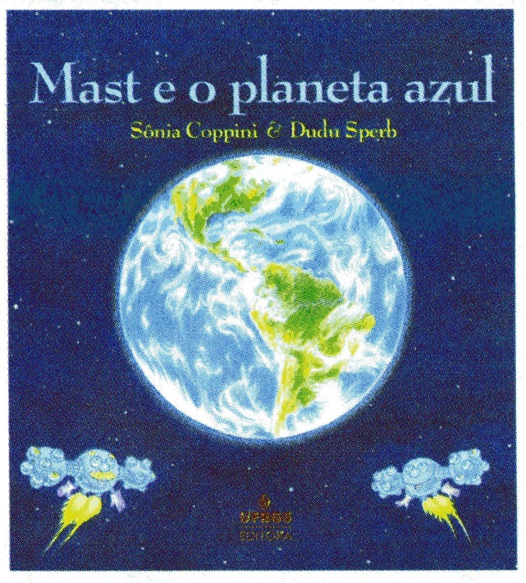 livro mast e o planeta azul