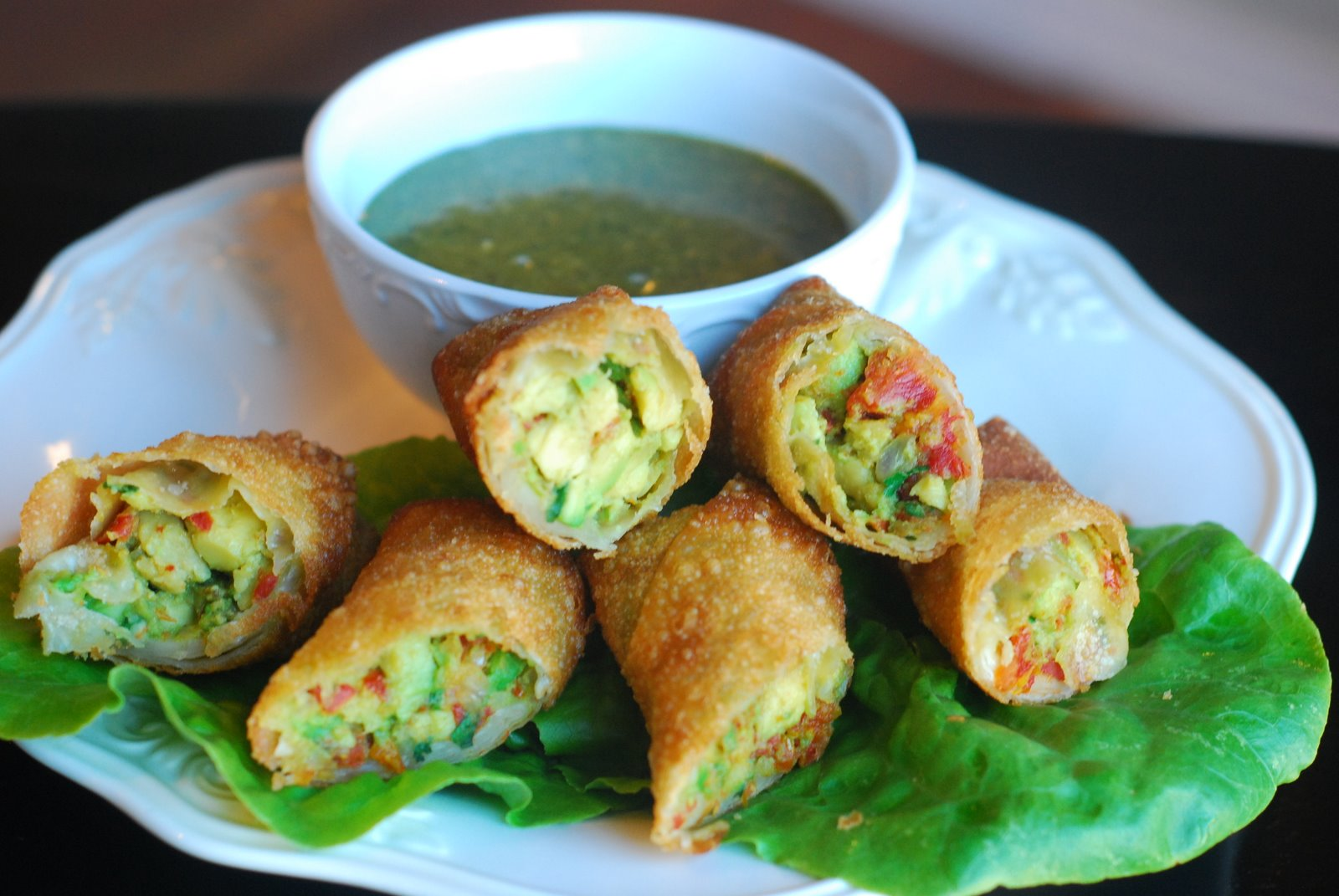 Avocado Rolls Recipe — Dishmaps