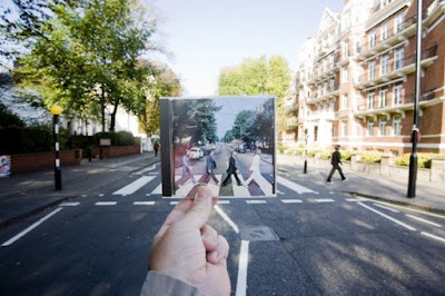Abbey Road and Cd Cover's Photography Illusion
