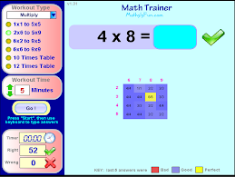 Math Trainer - Multiplication