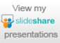 View my Slideshare presentations