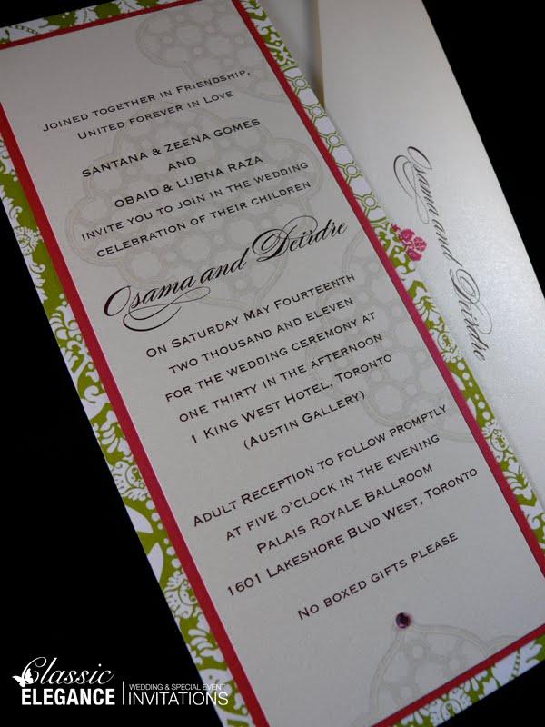 Classic Elegance Invitations