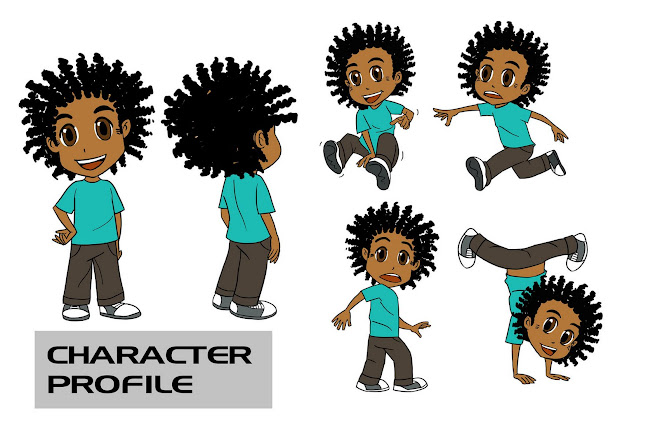 character profile for children's book