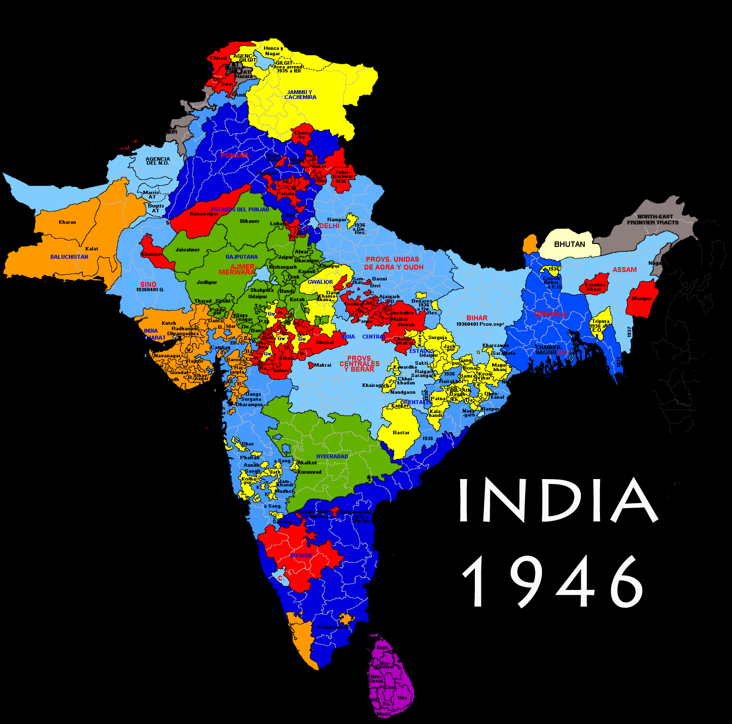 HIS 314 India Princely States Map on india taj mahal, india bombay, india independence movement, india punjab, india delhi, india harappan civilization, india british raj, india biggest cities, india thar desert, india map pre-1947, india economy,