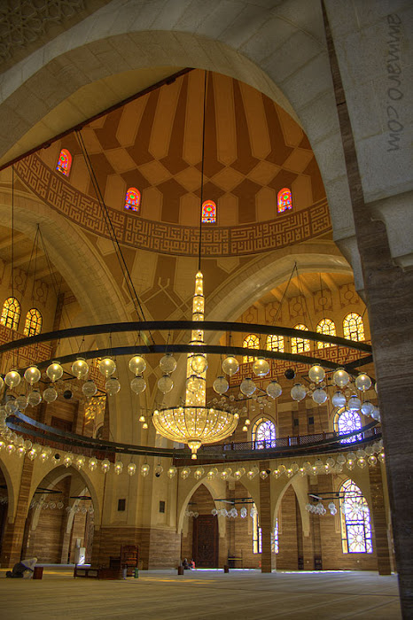 Grand Mosque, INT.