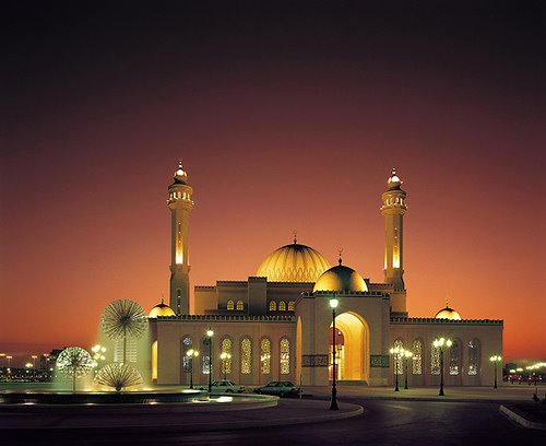 Grand Mosque in Bahrain, EXT.