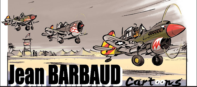 Jean Barbaud cartoons