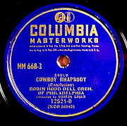 . Gould himself. They are from the 1947 Columbia Masterworks set, .