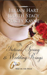 """Courted by the Cowboy""  Stetsons, Spring & Wedding Rings Anthology"