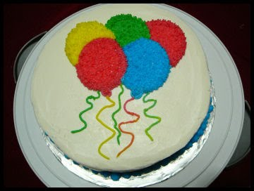 Cake Decoration Balloons : Balloon Cake Decorations Party Favors Ideas