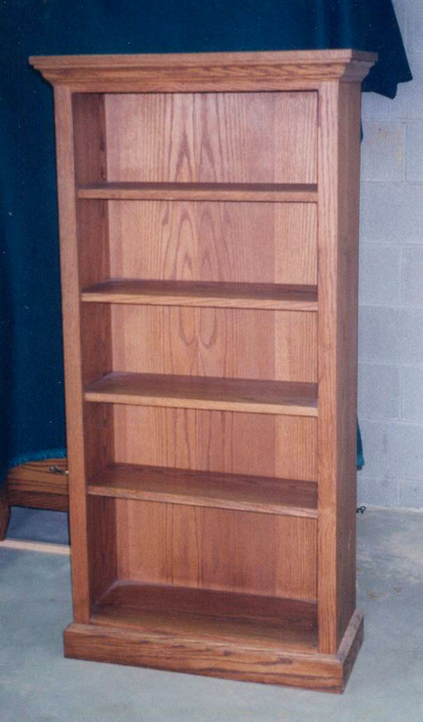Oak Bookcase Plans PDF Woodworking