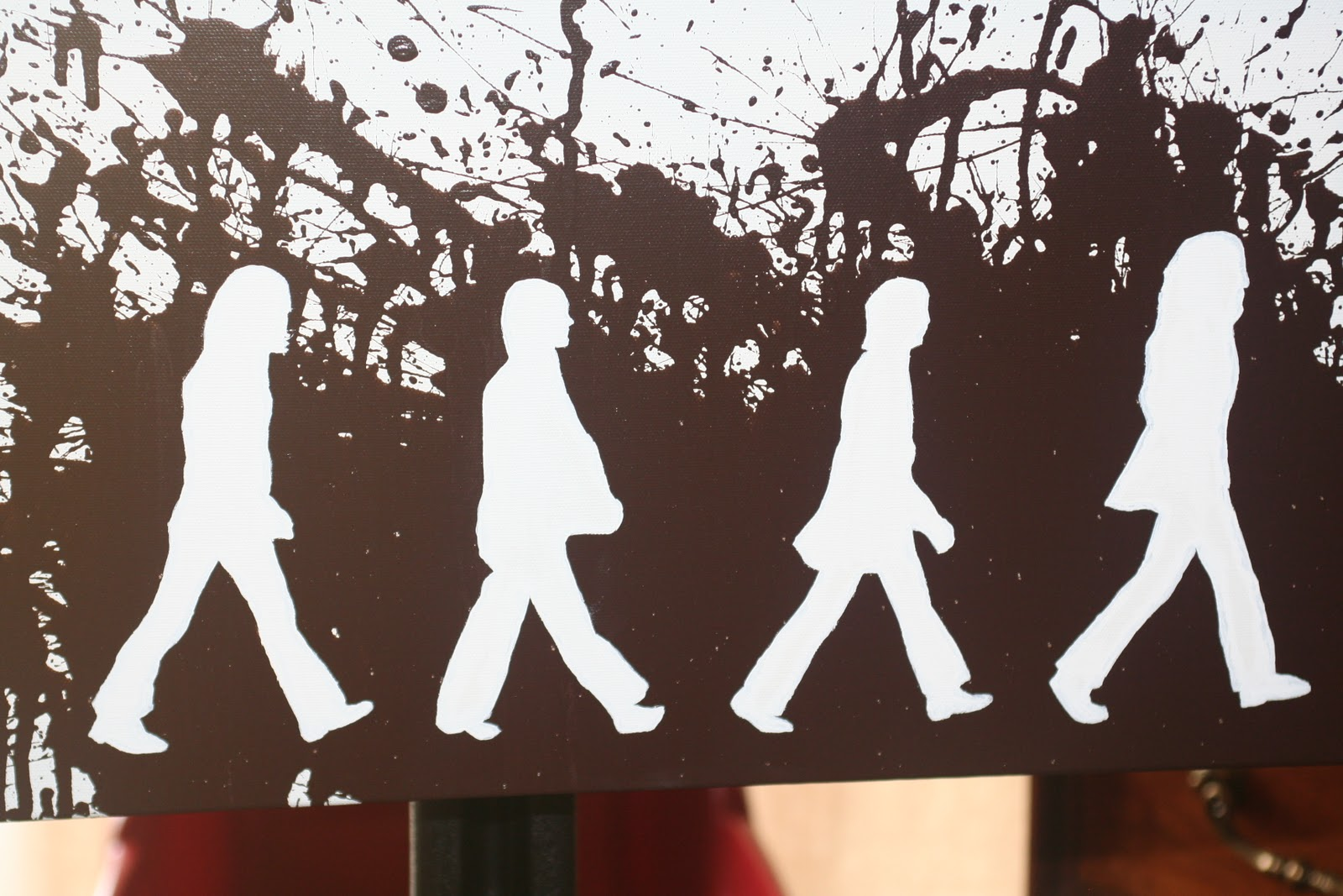 Abbey Road Silhouette Image