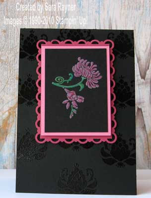 Cardstock Basic Black Rose Red Regal Rose Ink Whisper White Craft