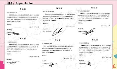 [pic] super junior kí hợp đồng cho SMTown 2010 tại Thượng Hải bao gồm Zhou Mi và henry 34193828