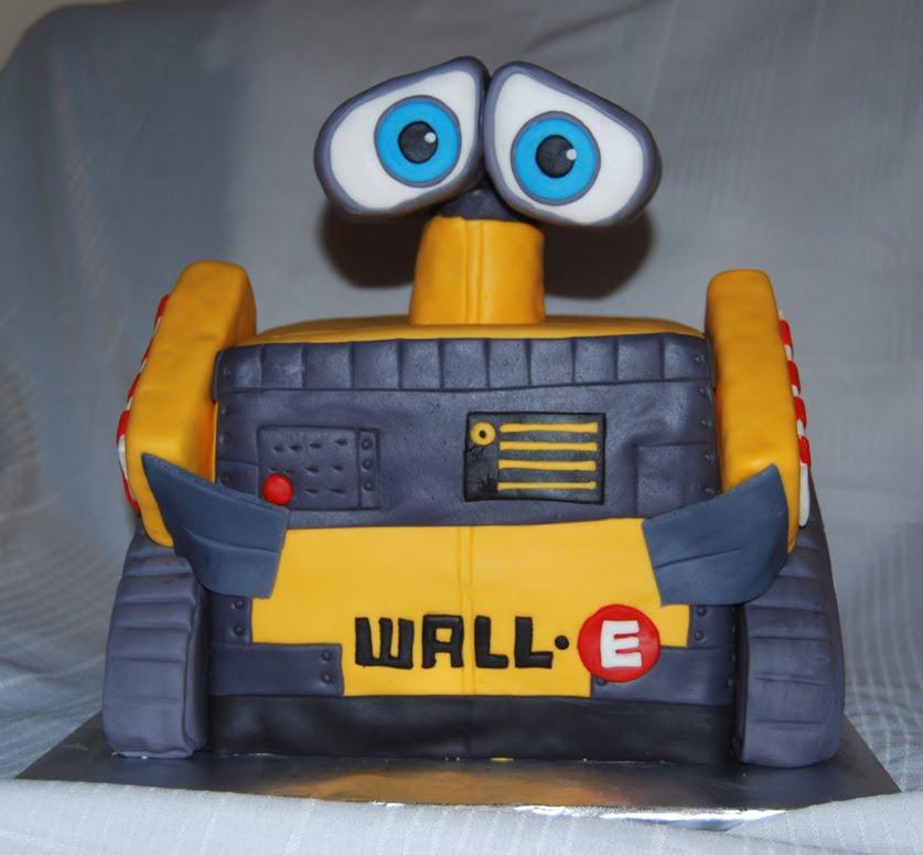 Leelees Cake Abilities Wall E Cake