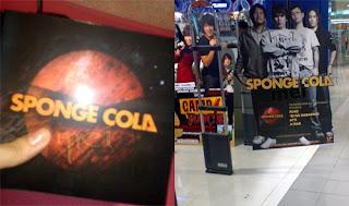 Sponge Cola's Self Titled third album